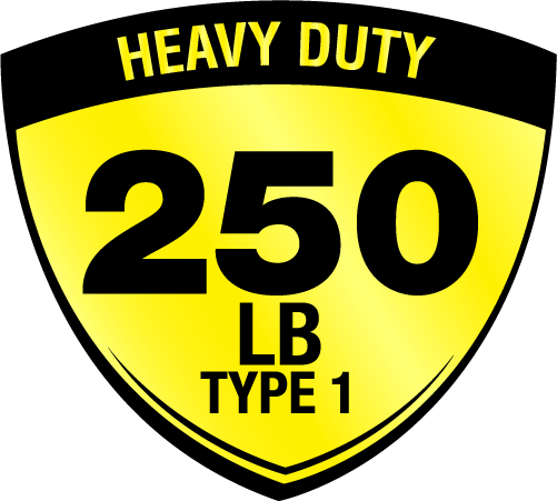 Type I, Heavy Duty, 250lbs. Icon